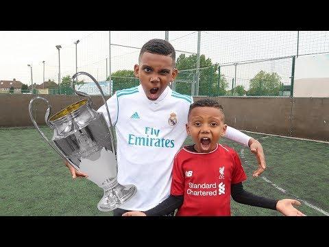 Champions League Final Football Challenge!!