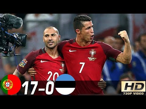 Portugal vs Estonia 17-0 – All Goals & Extended Highlights RÉSUMÉ & GOLES ( Last 4 Matches ) HD