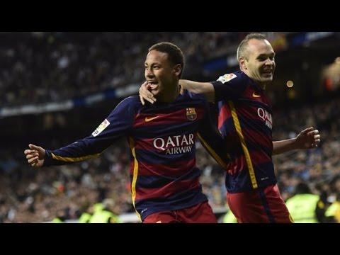 Real Madrid vs Barcelona (0/4) Goles Resumen El Clásico 2015