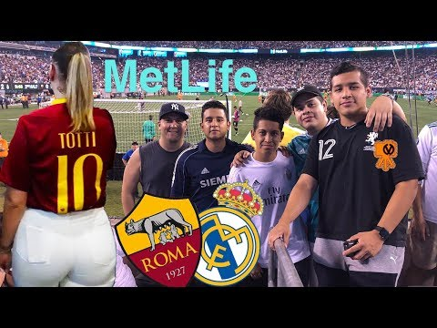Real Madrid Vs Roma @Metlife August 7th 2018