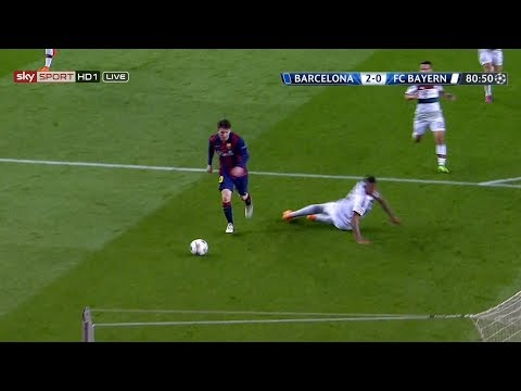 Lionel Messi vs Bayern Munich (UCL) (Home) 2014-15 English Commentary HD 1080i
