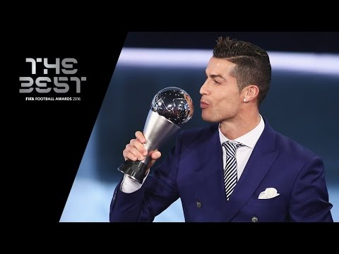 THE BEST FIFA MEN'S PLAYER 2016 – Cristiano Ronaldo WINNER