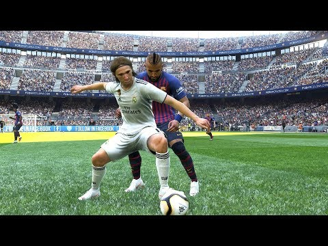 PES 2019 Realistic | Barcelona vs Real Madrid – El Clasico | Fujimarupes