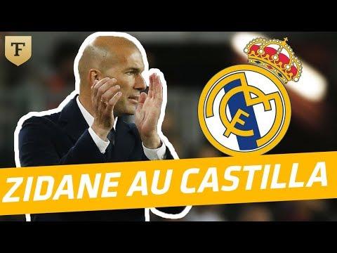Quand Zidane entraînait la réserve du Real Madrid