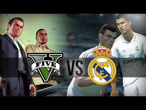 The WAIT IS OVER – GTA vs Real Madrid Pes 2014 Amazing Surreal !!!