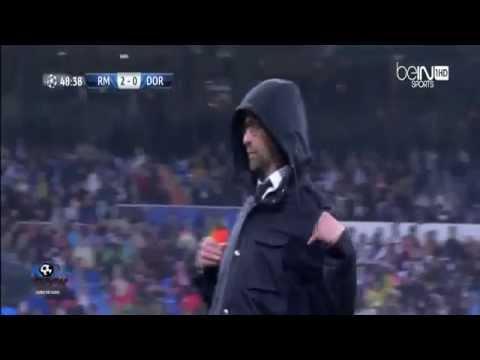Jurgen Klopp FUNNY REACTION after Aubameyang Miss ~ Real Madrid vs Dortmund 02/04/2014 HD