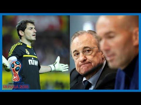 Real Madrid: La raison secrète du départ choc de Zinédine Zidane ! Kiko Casilla c0ntre Zidane.