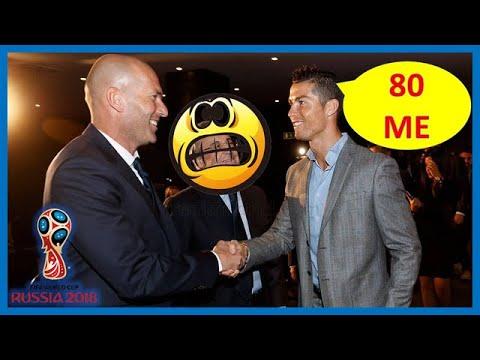 Nouvelles révélations de taille sur la démission de Zidane. Ronaldo exige 80 millions E par an