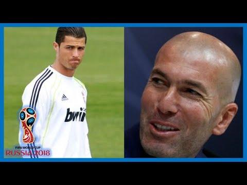 Pourquoi Zidane a claqué la porte du Real. Ronaldo veut revenir à Manchester