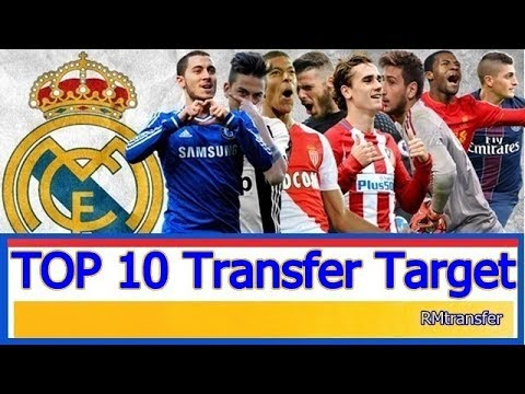 Real Madrid – Top 10 Transfer Target in Summer 2017 | HD