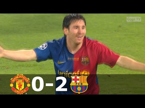 Manchester United vs Barcelona 0-2 – UCL Final 2009 – Highlights (English Commentary)