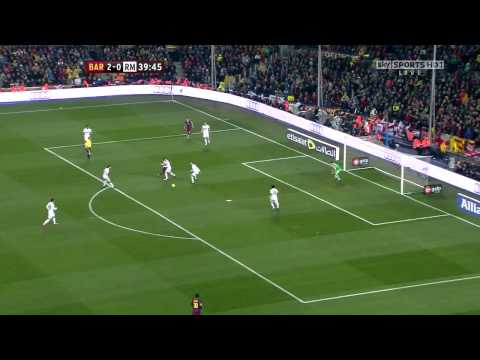 Barcelona Vs Real Madrid (5-0)   29 11 2010 HD