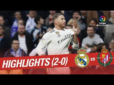 Resumen de Real Madrid vs Real Valladolid (2-0)