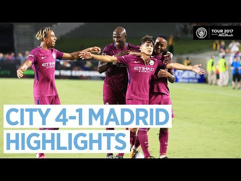 Man City vs Real Madrid 4-1 | All Highlights & Goals – Official HD 27 July 2017