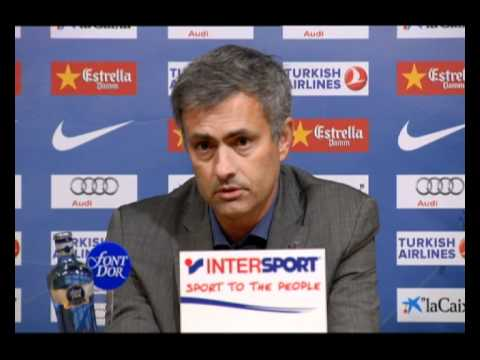 Barcelona vs. Real Madrid: Mourinho´s analysis