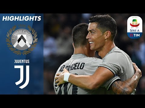Udinese 0-2 Juventus | Ronaldo Scores Again as Juve Secure Away Win! | Serie A
