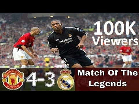 Manchester United 4-3 Real Madrid – All Goals & Highlights 2002-03 (English Commentary)