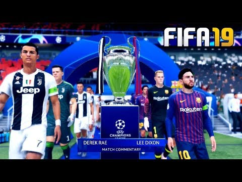 Real madrid vs FC Barcelona Full Match FIFA 19 Gamez & Rulez Full HD 2018
