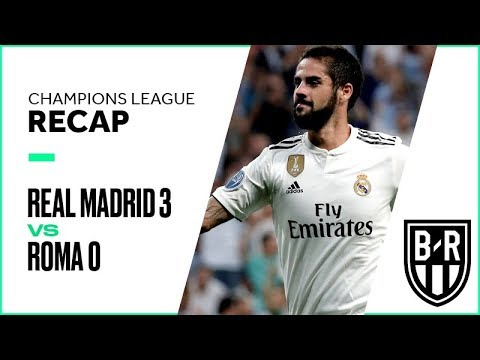 Champions League Recap: Real Madrid 3-0 Roma Highlights, Goals and Best Moments