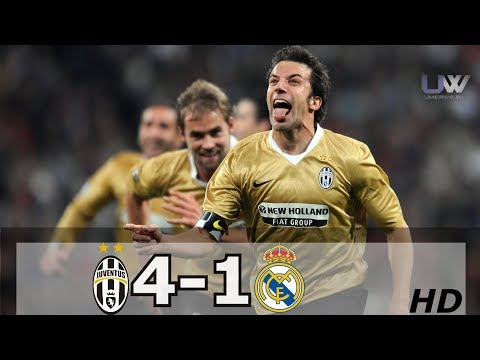 Juventus vs Real Madrid (4-1) | Goals and Highlights – UEFA Champions League 2008/09