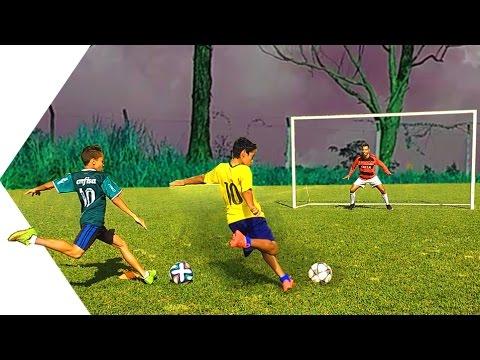 Penalti – Brasil Vs Palmeiras Vs Real Madrid Vs Bayern – DESAFIOS DE FUTEBOL