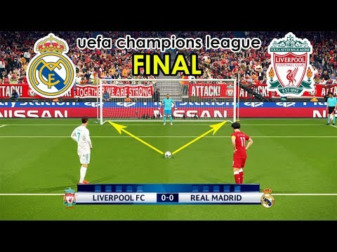 REAL MADRID VS LIVERPOOL | UEFA Champions League Final | Penalty Shootout | PES 2018