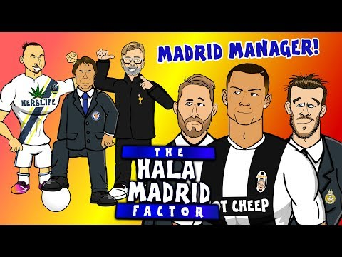 The Hala Madrid Factor – MADRID's NEW MANAGER! (feat Zlatan, Conte, Klopp, Wenger, Mourinho+more!)