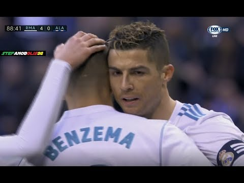 Cristiano Ronaldo Let Benzema Take The Penalty Instead of Get an Hat-Trick ⚽ 2018 | HD