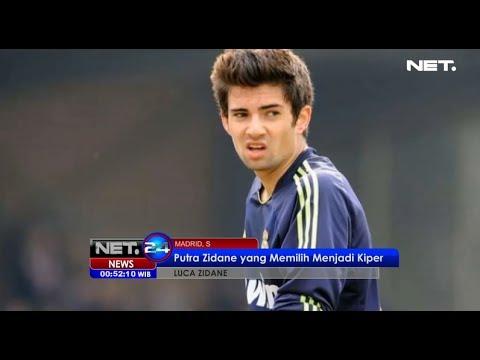 NET24 – Luca Zidane memilih menjadi kiper