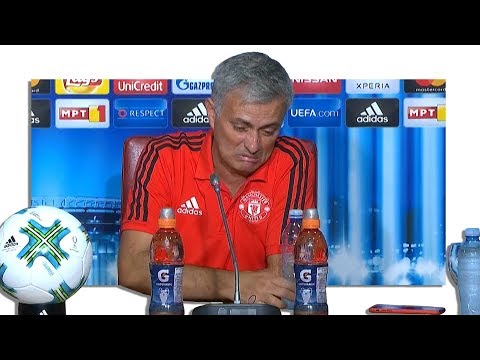 Real Madrid 2-1 Manchester United – Jose Mourinho Post Match Press Conference – Super Cup