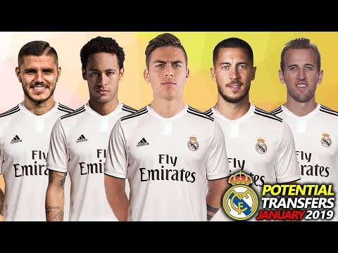Real Madrid – All Transfer Targets & Potential Transfers January 2019