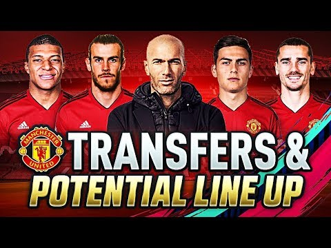FIFA 19 | MANCHESTER UNITED JANUARY TRANSFER TARGETS & LINEUPS 2019 | w/ DYBALA GRIEZMANN & MBAPPE