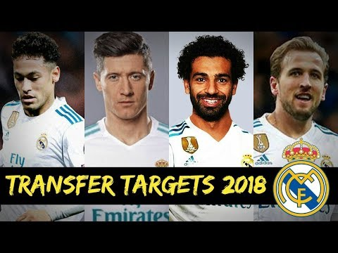 Top 10 Real Madrid Summer Transfer Targets