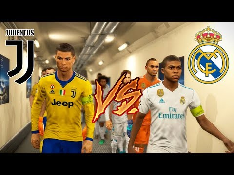 PES 2018 | RONALDO VS MBAPPE | Juventus VS Real Madrid | Gameplay PC