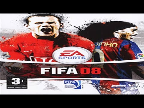 FIFA 08 | WIKI | Gameplay | Barcelona x Real Madrid