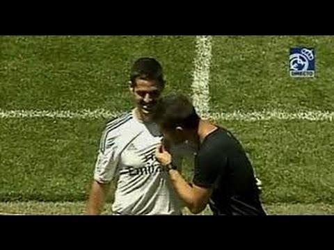 Isco no besa el escudo del Real Madrid (Su hermano SÍ) |Presentación Isco 2013| Isco's presentation