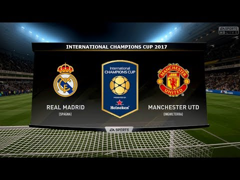 REAL MADRID VS MANCHESTER UTD – INTERNATIONAL CHAMPIONS CUP 23/07/2017 |FIFA 17 Predicts – Pirelli7