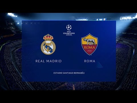 Fifa 19 Demo Gameplay | Real Madrid vs Roma | Full Match | Xbox One S Gameplay