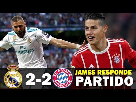 Bayern Múnich vs Real Madrid 2-2 (3-4) | JAMES responde a Zidane | Champions