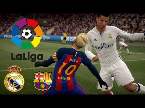 FIFA 17 FULL GAMEPLAY REAL MADRID VS FC BARCELONA EL CLASICO 2016 CUP FINAL