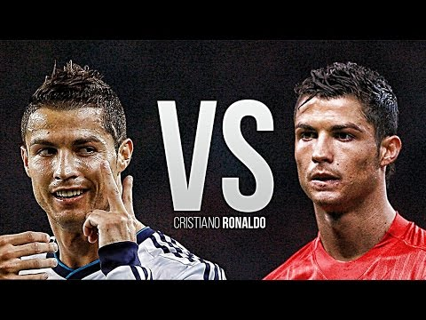 Cristiano Ronaldo • Manchester United vs Real Madrid Battle | HD |