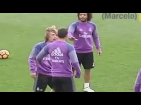 James Rodriguez Conflict vs Luka Modric on Real Madrid Training 05/11/2016