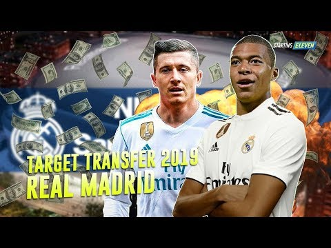 7 Pemain Incaran Real Madrid di Bursa Transfer Januari 2019 – Rumor Transfer