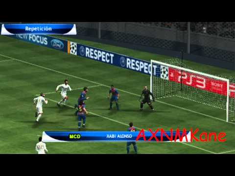 PES 2012 – Real Madrid Vs. Barcelona Gameplay and Download [PSP] HD