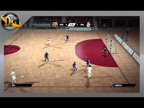 FIFA STREET 4 ★Barcelona Vs Real Madrid★Gameplay (PC)+Downloads❞