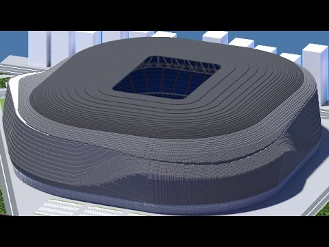 Minecraft – MEGABUILD – New Santiago Bernabéu (Real Madrid Proposed) [Official] + DOWNLOAD