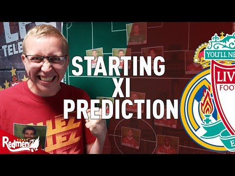 Real Madrid v Liverpool | CL Final | Starting XI Prediction LIVE