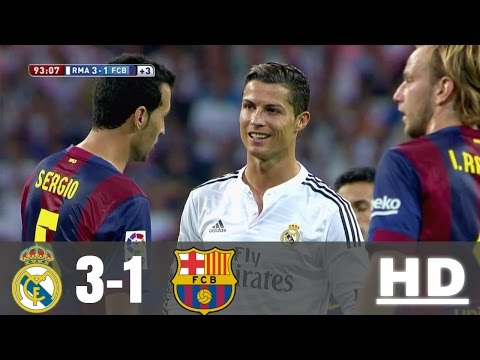 Real Madrid vs Barcelona 3-1 – All Goals & Extended Highlights – La Liga 25/10/2014 HD