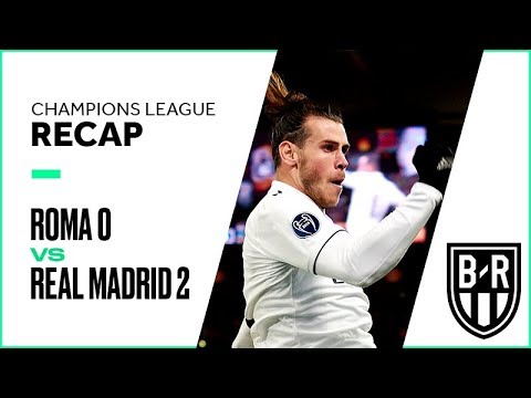 Champions League Recap: Roma 0-2 Real Madrid Highlights, Goals and Best Moments