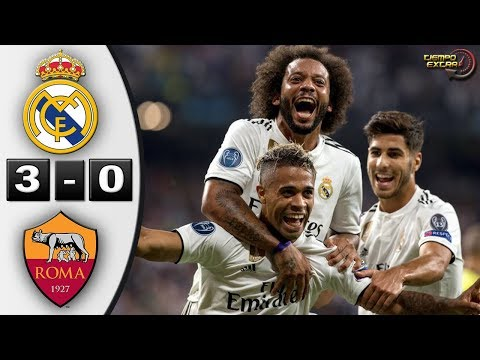 Real Madrid vs AS Roma 3-0 Resumen Highlights 19/09/2018